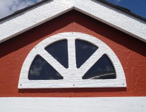 半丸小窓(ガーデンハウス用)